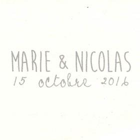 Marie & Nicolas